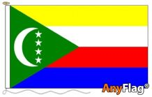 - COMOROS ANYFLAG RANGE - VARIOUS SIZES